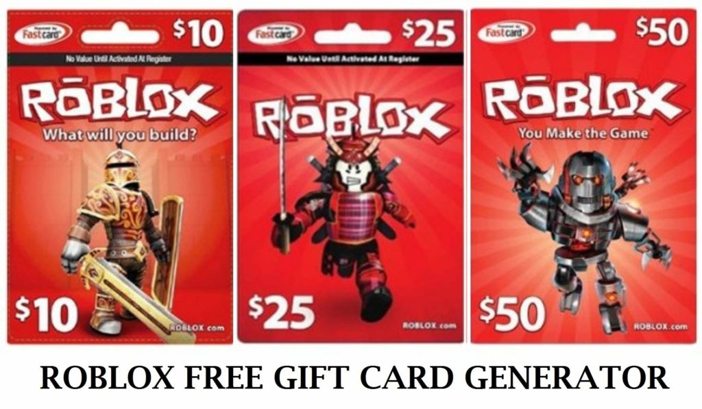 Roblox Free Gift Card Codes Generator Without Human Verification